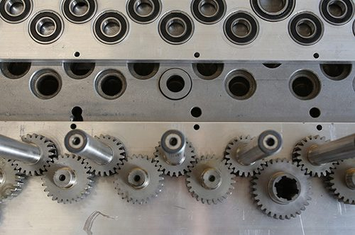 Torneria Mengozzi - Assemblaggio macchine